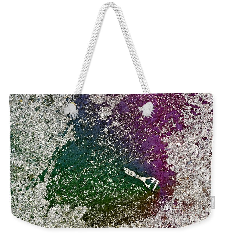 Clay Weekender Tote Bag featuring the photograph Street Painter by Clayton Bruster