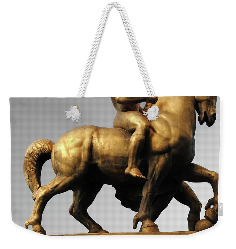 Strength Weekender Tote Bag featuring the photograph Strength by Jost Houk