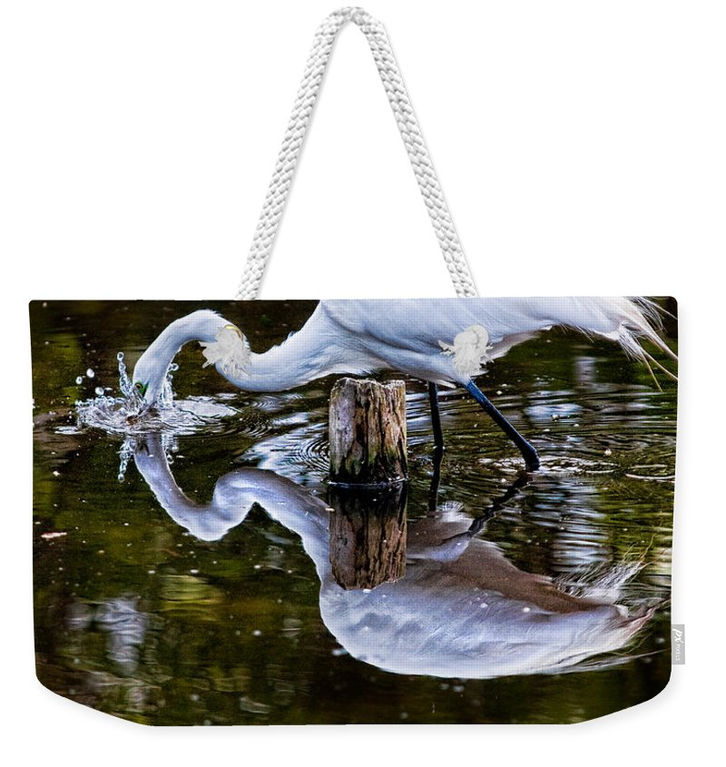 Art Weekender Tote Bag featuring the photograph Strike by Christopher Holmes