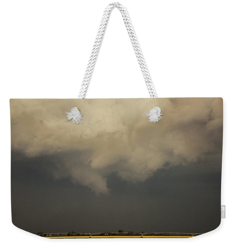 Nebraskasc Weekender Tote Bag featuring the photograph Strong Storms In South Central Nebraska 007 by NebraskaSC