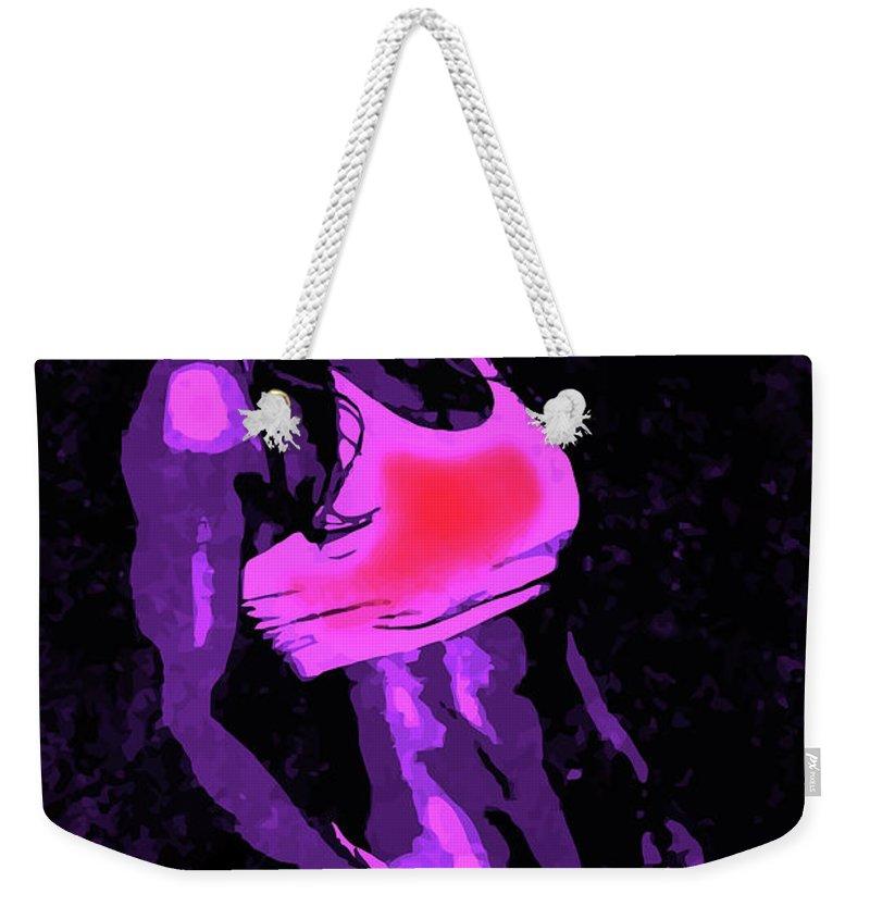 Woman Weekender Tote Bag featuring the digital art Strong Women 2 by John Novis