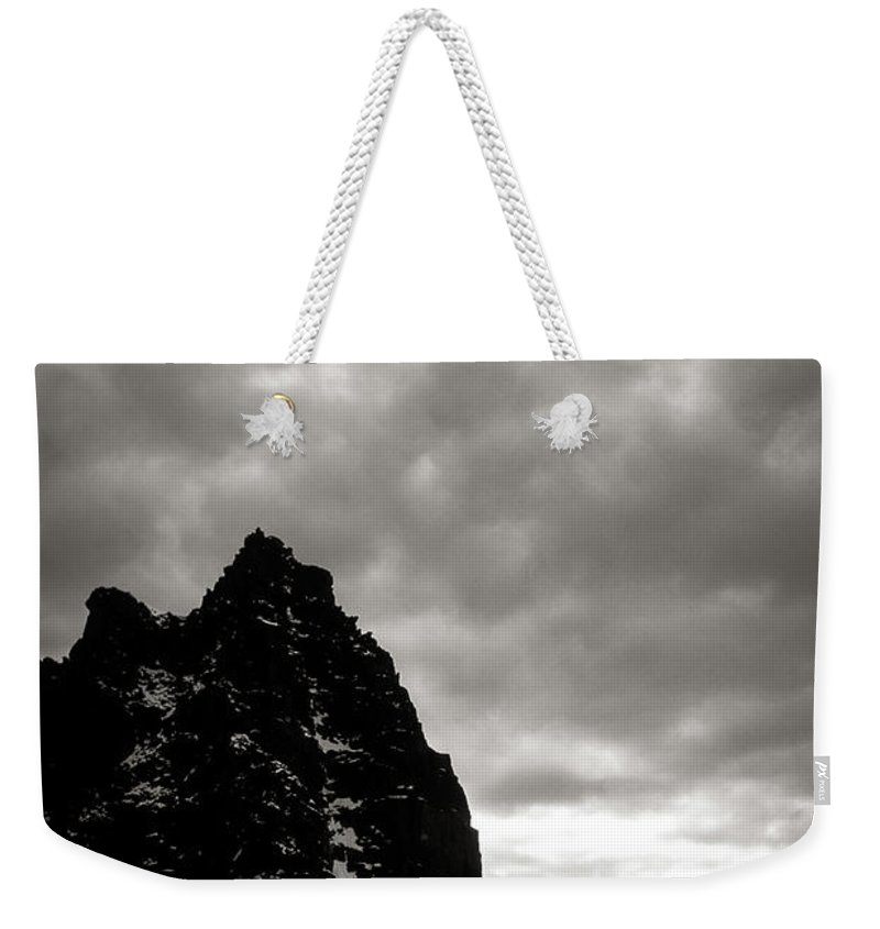 Alone Weekender Tote Bag featuring the photograph Stronghold by Konstantin Dikovsky