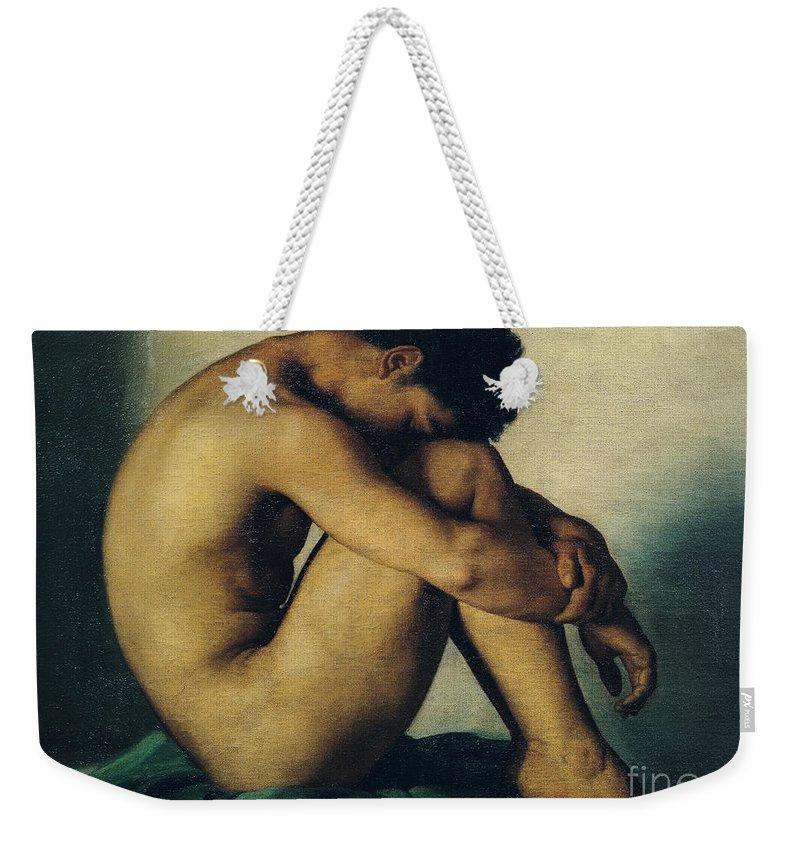 Naked Men Weekender Tote Bags