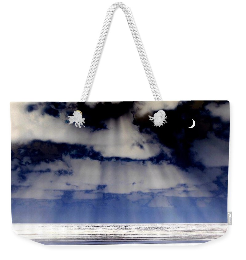 Surreal Weekender Tote Bag featuring the digital art Sub Zero by Will Borden