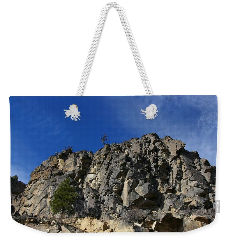 Views Weekender Tote Bag featuring the photograph Sugarloaf by Jeff Swan