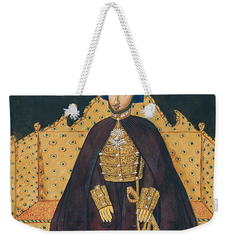 Painting Weekender Tote Bag featuring the painting Sultan Abulmecid by Mountain Dreams