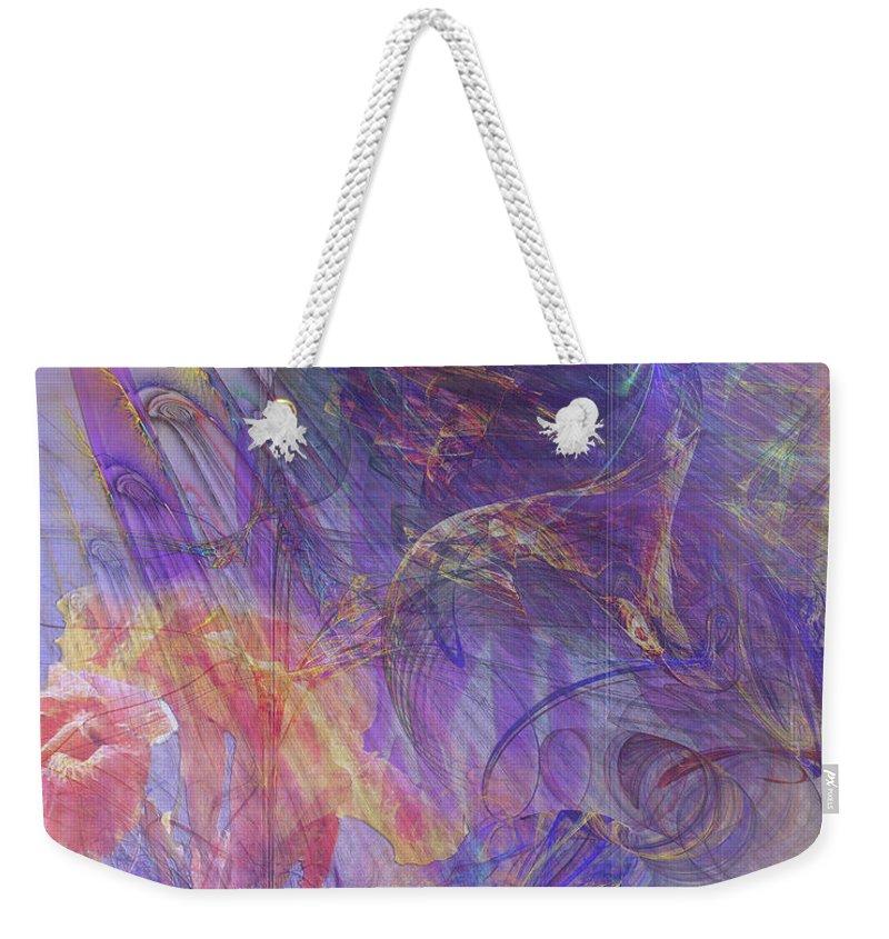 Summer Awakes Weekender Tote Bag featuring the digital art Summer Awakes by John Beck