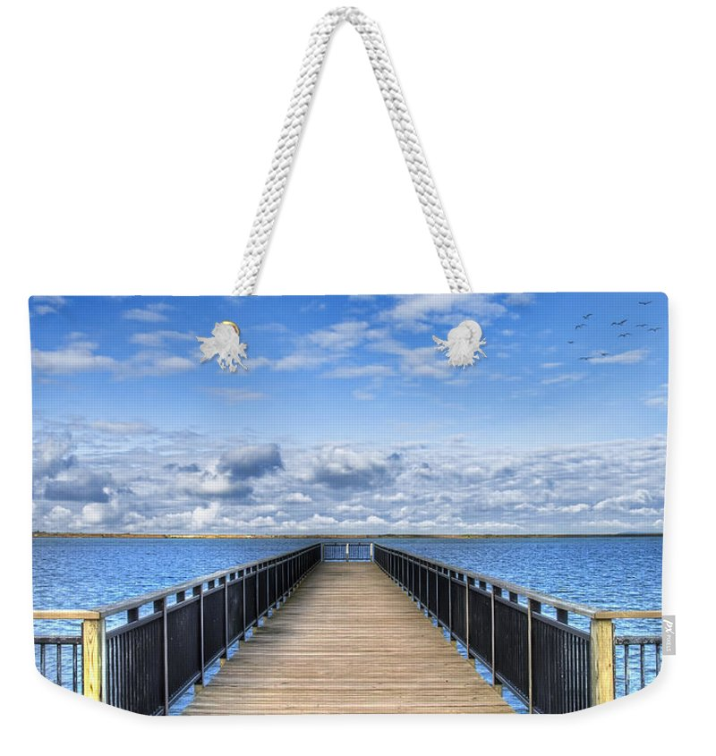 Hdr Weekender Tote Bag featuring the photograph Summer Bliss by Tammy Wetzel