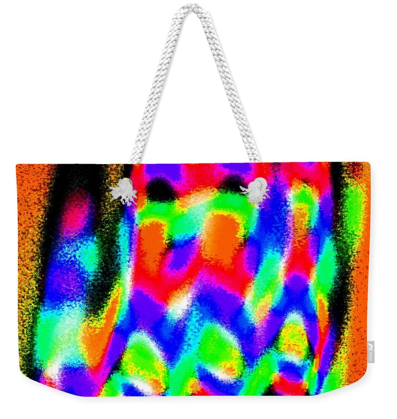 Conceptual Weekender Tote Bag featuring the digital art Summer Call Of The North by Will Borden