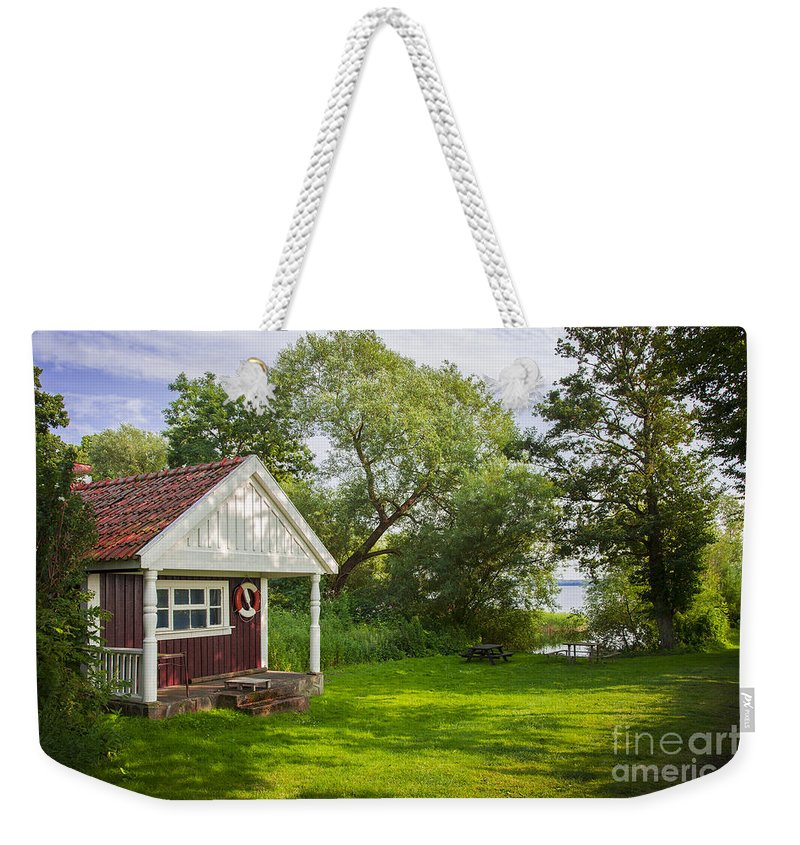 Cottage Weekender Tote Bag featuring the photograph Summer Cottage by Sophie McAulay