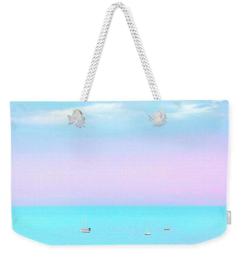 Helicopter Photographs Weekender Tote Bags