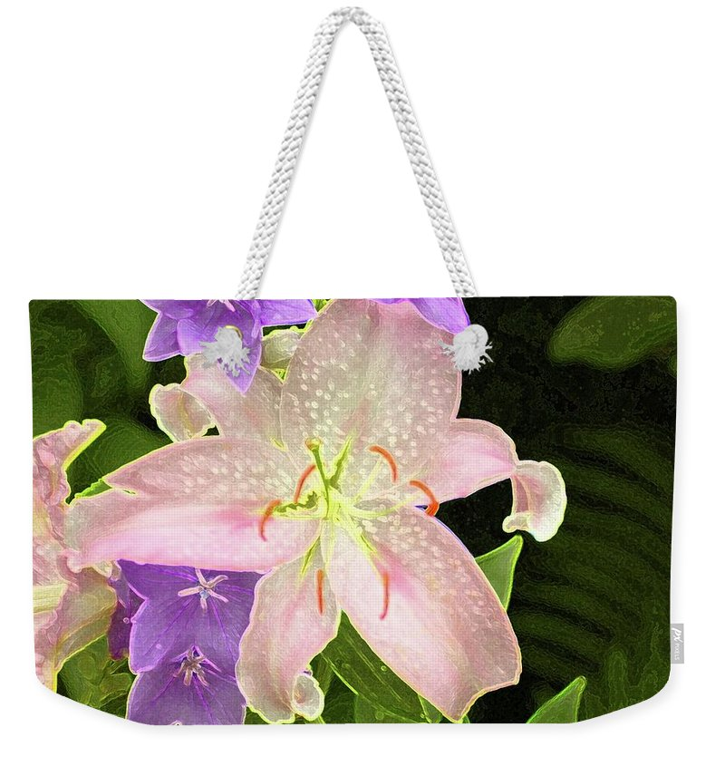 #flower #day Weekender Tote Bag featuring the photograph Summer Flowers by Kathleen Struckle