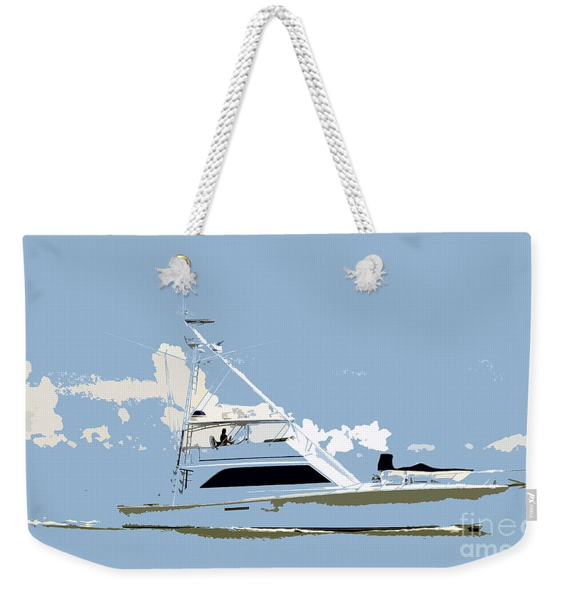 Boat Weekender Tote Bag featuring the photograph Summer Freedom by David Lee Thompson