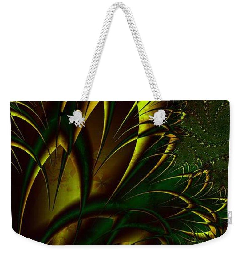 Digital Art Weekender Tote Bag featuring the digital art Summer Frenzy by Amanda Moore