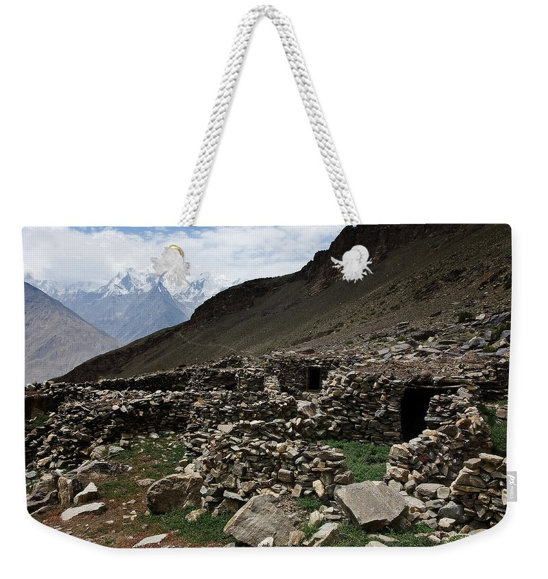 Backpacking Weekender Tote Bag featuring the photograph Summer Hut by Konstantin Dikovsky