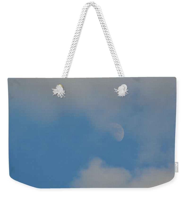 Moon Weekender Tote Bag featuring the photograph Summer Moon by JAMART Photography