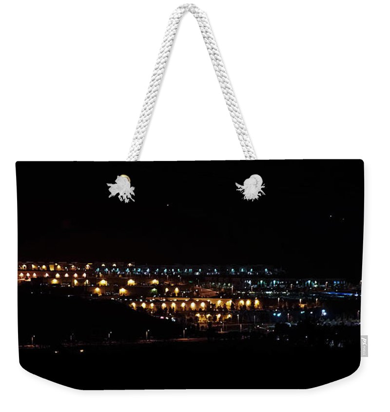 Clay Weekender Tote Bag featuring the photograph Summer Nights by Clayton Bruster