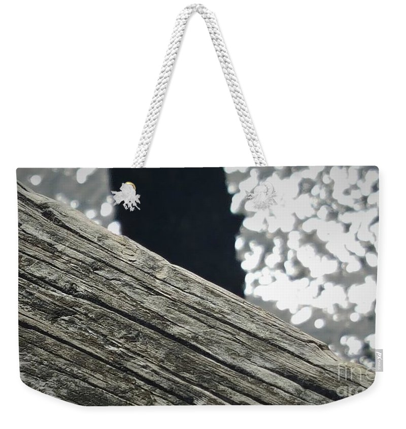 Ocean Weekender Tote Bag featuring the photograph Summer On The Dock by McCall Chase