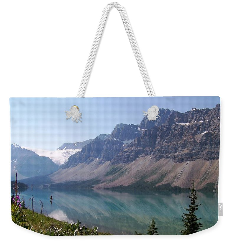 Summer Reflections Weekender Tote Bag featuring the photograph Summer Reflections by Greg Hammond