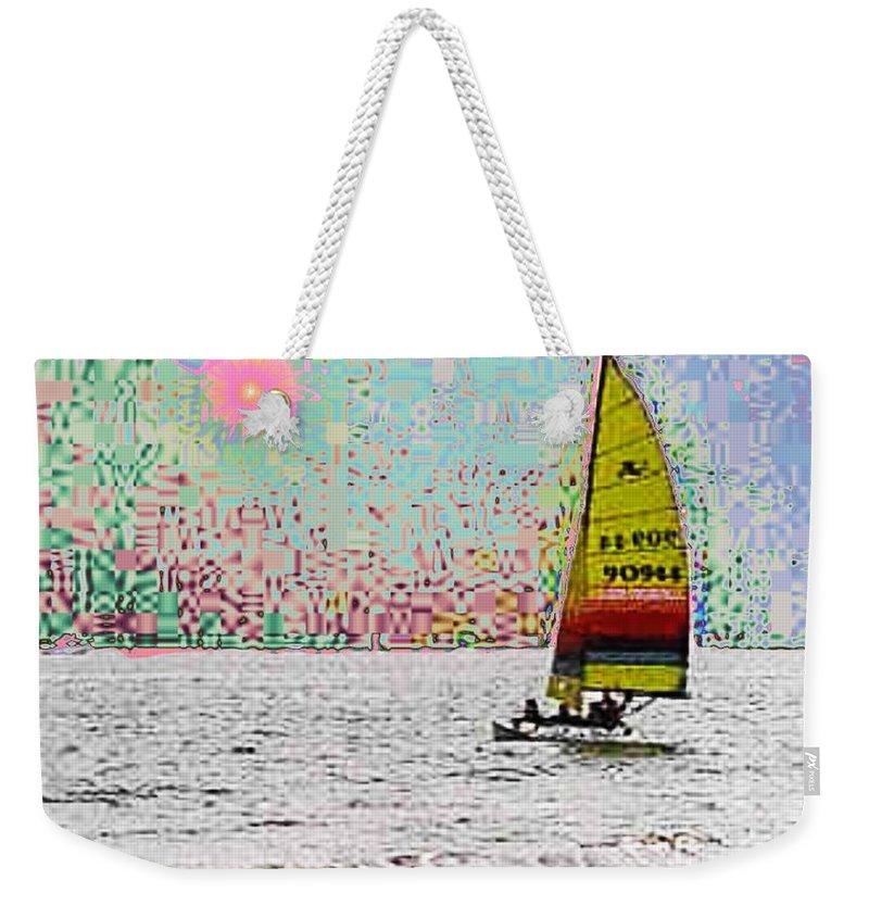 Sail Weekender Tote Bag featuring the photograph Summer Sailin by Tim Allen