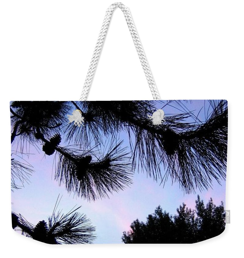 Silhouettes Weekender Tote Bag featuring the photograph Summer Silhouettes by Will Borden