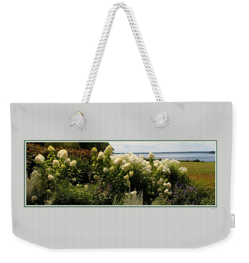 Usa Weekender Tote Bag featuring the photograph Summer Spledor by Tom Prendergast