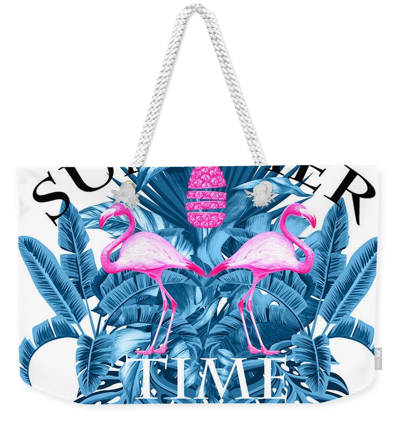 Animals Weekender Tote Bag featuring the photograph Summer Time Tropical by Mark Ashkenazi