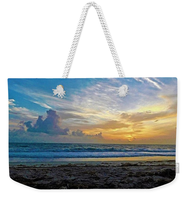 Ocean Weekender Tote Bag featuring the photograph Summer Winds by Jerry O'Rourke