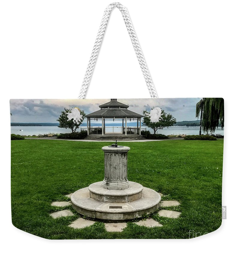 Summer Weekender Tote Bag featuring the photograph Summer's Break by William Norton