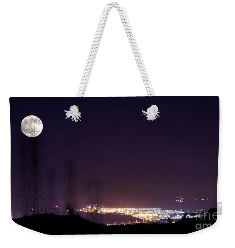 Clay Weekender Tote Bag featuring the photograph Summer's Night In The Valley by Clayton Bruster
