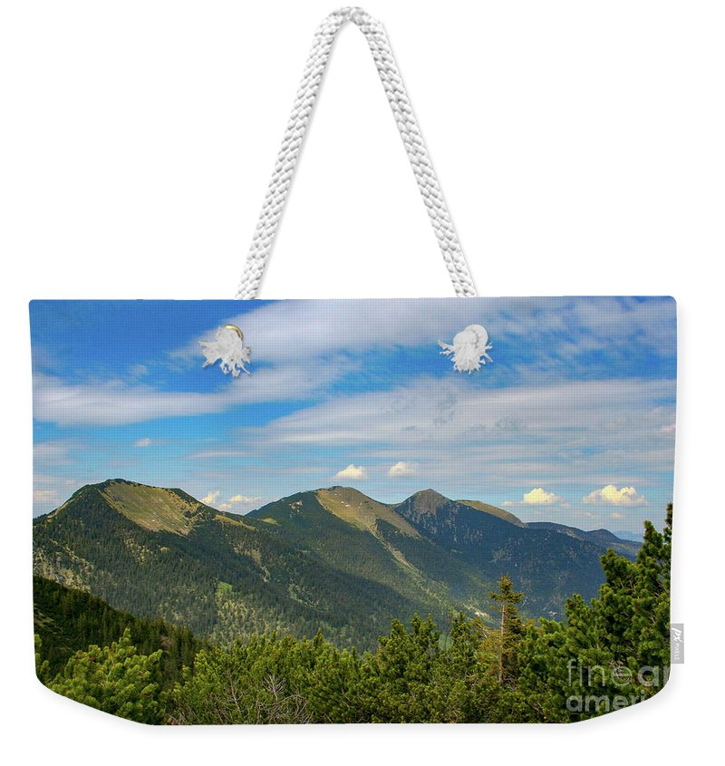 Alps Weekender Tote Bag featuring the photograph Summertime Alps In Germany by Amy Sorvillo