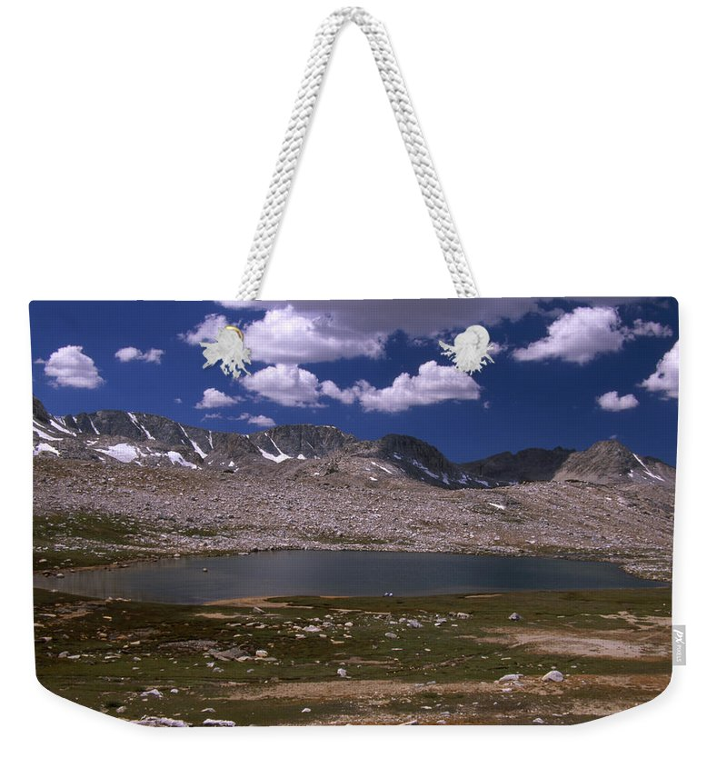 Summit Lake Weekender Tote Bag featuring the photograph Summit Lake - Humphrey's Basin by Soli Deo Gloria Wilderness And Wildlife Photography