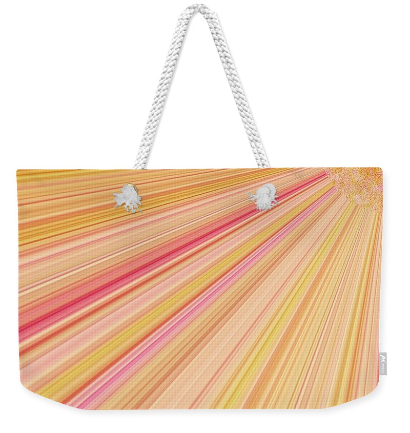 Sun Weekender Tote Bag featuring the photograph Sun Abstract by Debra Lynch
