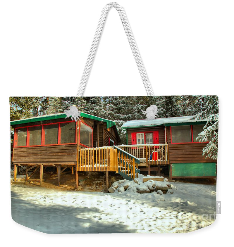 Jasper Weekender Tote Bag featuring the photograph Sun After The Storm At Beauty Creek by Adam Jewell
