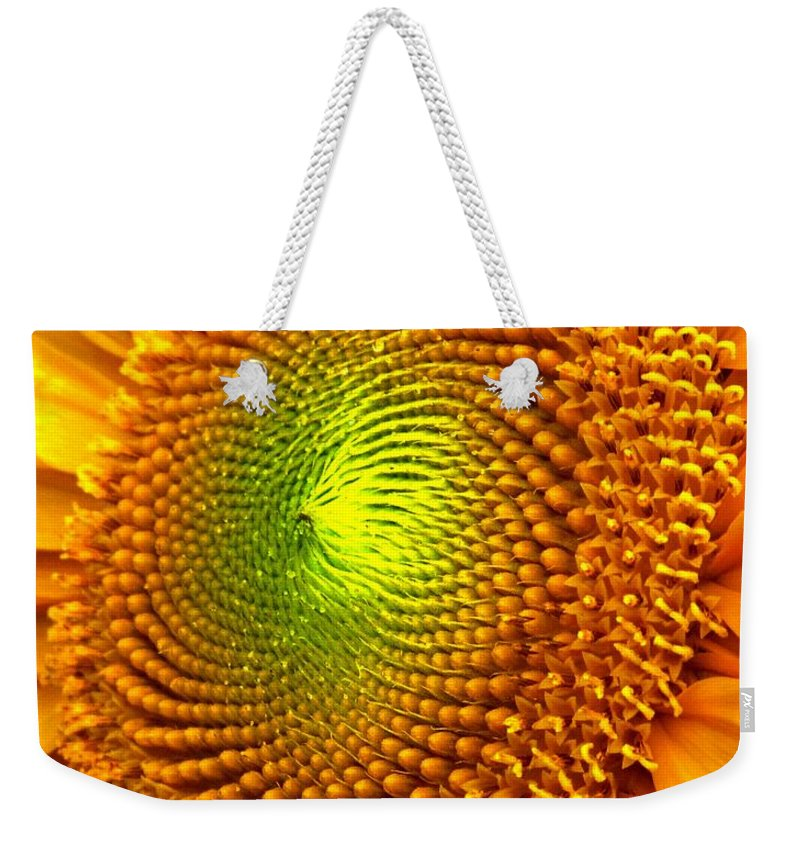 Sun Weekender Tote Bag featuring the photograph Sun Burst by Ian MacDonald