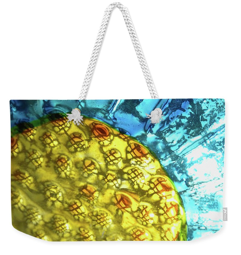 Glass Weekender Tote Bag featuring the photograph Sun Daisy by Jerry McElroy