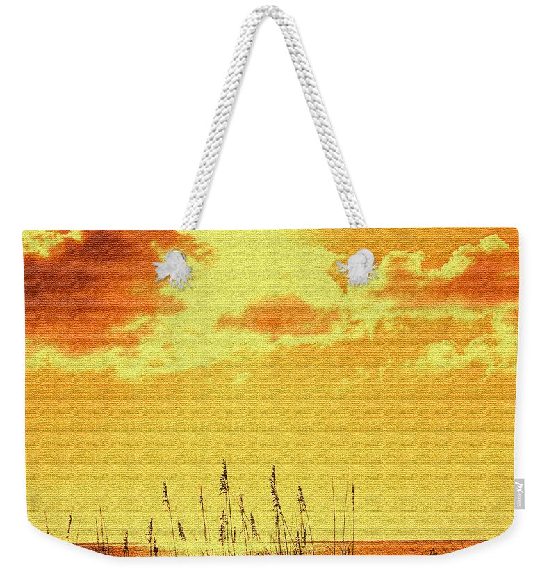 Sun Weekender Tote Bag featuring the photograph Sun by Ian MacDonald