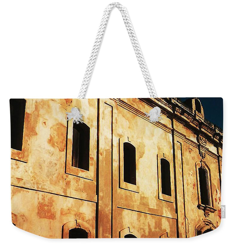 Buildings Weekender Tote Bag featuring the photograph Sun Kissed by Jeff Barrett