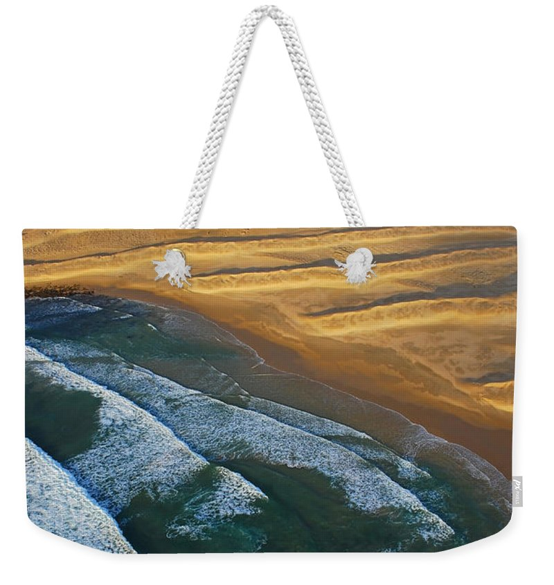 Coast Weekender Tote Bag featuring the photograph Sun Rise Coast by Skip Hunt