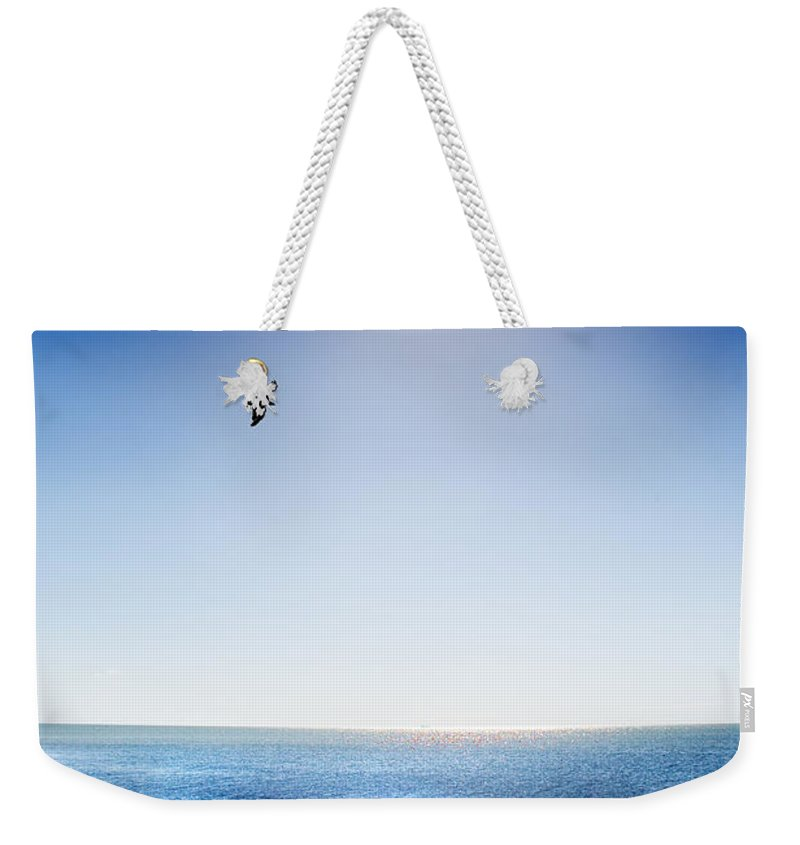 Sun Weekender Tote Bag featuring the photograph Sun Shade by Mal Bray