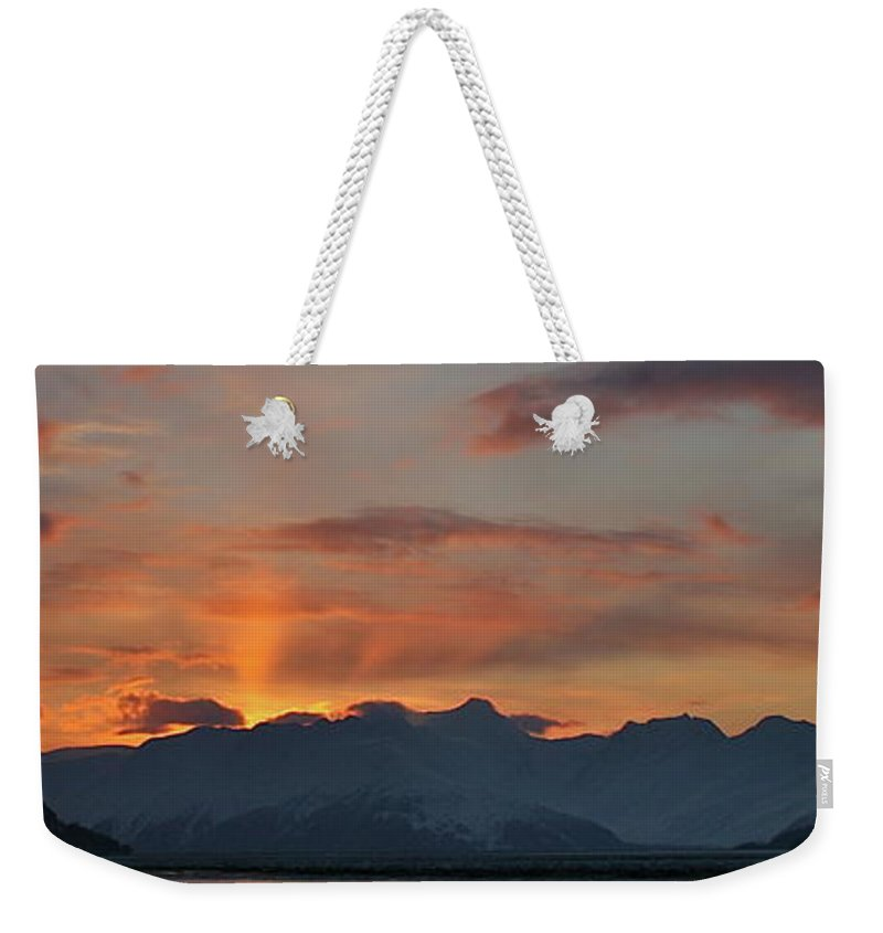 Landscape Weekender Tote Bag featuring the photograph Sunbeam by Rick Monyahan