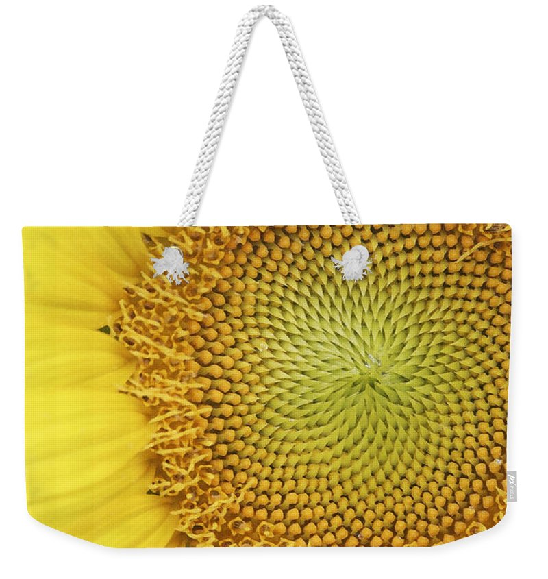 Sunflower Weekender Tote Bag featuring the photograph Sunflower by Margie Wildblood