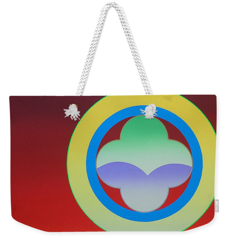 Insignia Weekender Tote Bag featuring the painting Sunlight by Charles Stuart