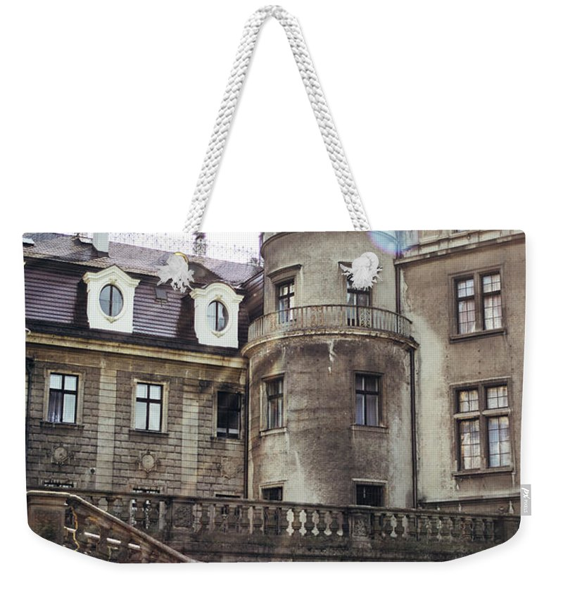 Sunlight Weekender Tote Bag featuring the photograph Sunlight On Moszna by Pati Photography