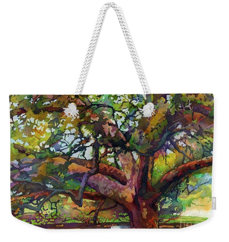 Oak Paintings Weekender Tote Bags