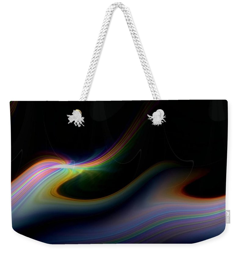 Sunrise Weekender Tote Bag featuring the photograph Sunrise Abstract 2 by Tim Allen
