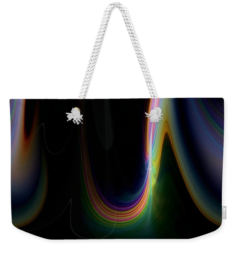 Sunrise Weekender Tote Bag featuring the photograph Sunrise Abstract 3 by Tim Allen