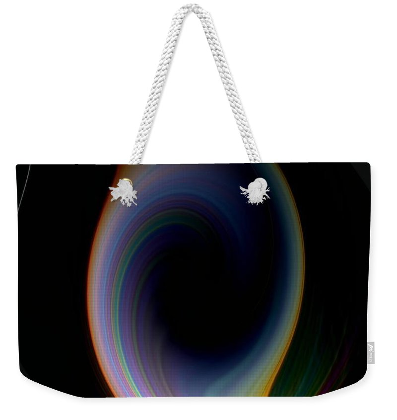 Sunrise Weekender Tote Bag featuring the photograph Sunrise Abstract by Tim Allen