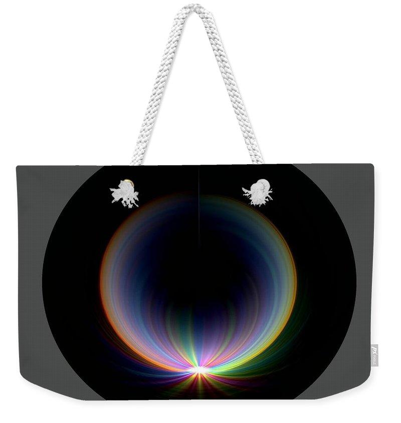 Sunrise Weekender Tote Bag featuring the digital art Sunrise At 30k 1 by Tim Allen