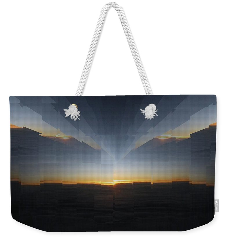 Sunrise Weekender Tote Bag featuring the photograph Sunrise At 30k 10 by Tim Allen